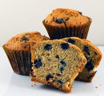 BNJKC 2.5 oz. Whole Grain Blueberry - Cut Open Image