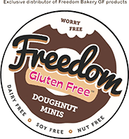 Freedom Logo with distributor disclaimer
