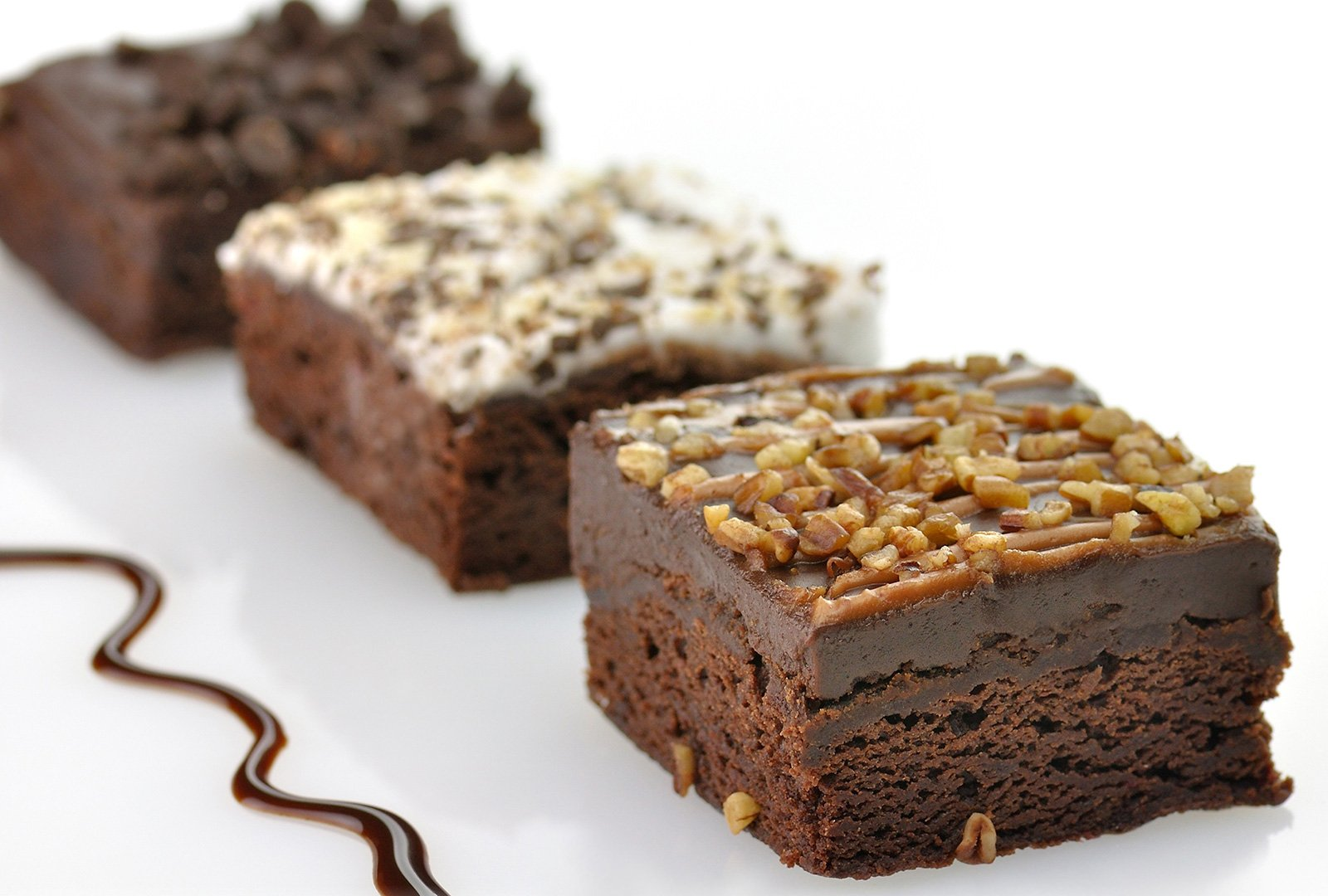Frosted Brownie Trio cropped