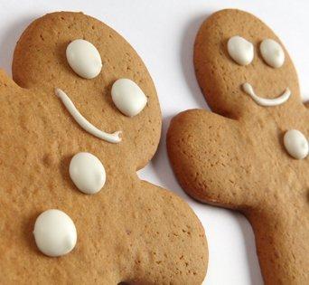 BNJO Gingerbread Cookie - Cut Open Image