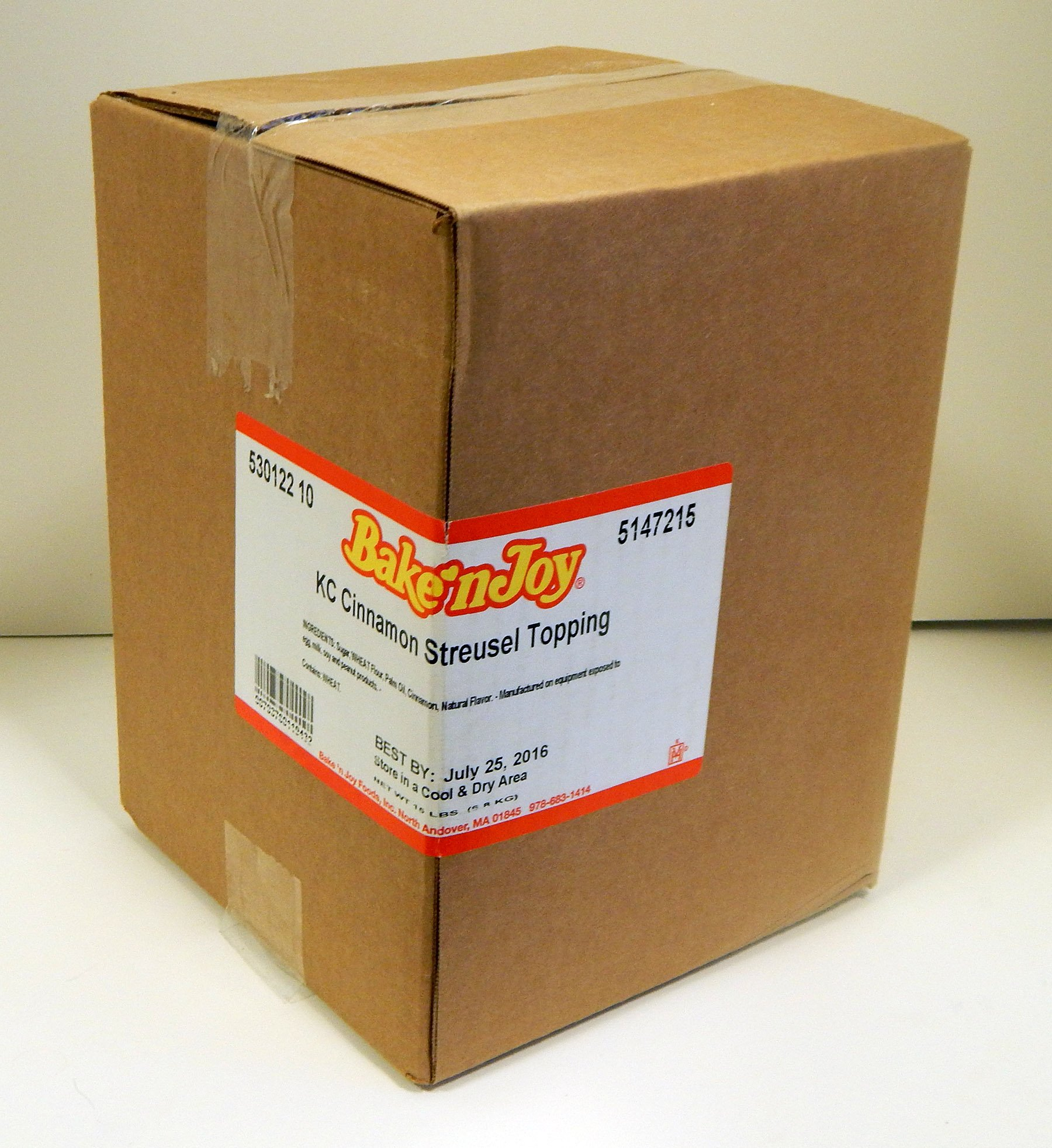 BNJKC Gourmet Cinnamon Streusel - Packaging Image