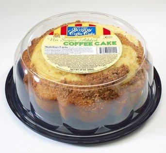 BNJBCC No Sugar Added Coffee Cake - Cut Open Image
