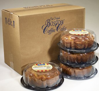 BNJBCC No Sugar Added Coffee Cake - Packaging Image