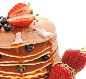 BNJO Buttermilk Pancake & Waffle - Cut Open Image