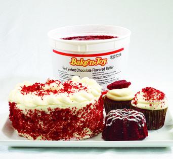 BNJUM Red Velvet Cake Batter - Cut Open Image