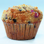 BNJUM 6.25 oz. Triple Berry Blast Muffins