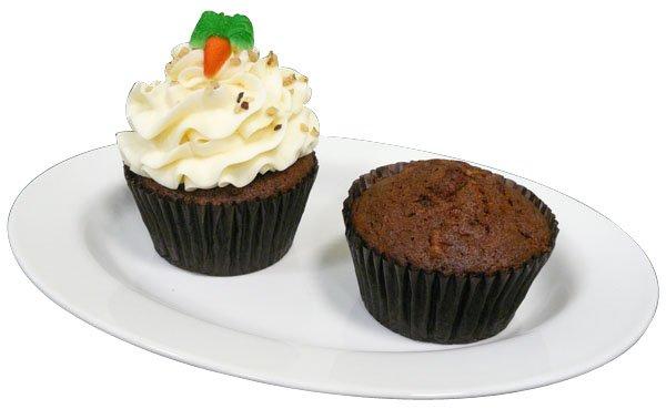 BNJO 4 oz. Carrot Cake Cupcakes