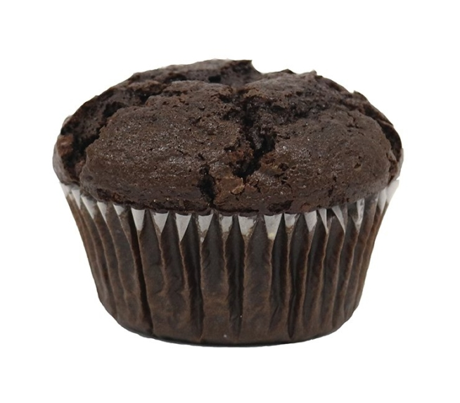 BNJO 6.25 oz. Chocolate Filled Double Chocolate Muffins